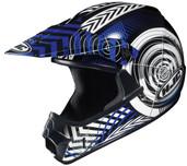HJC CL-XY Youth Wanted Helmet Juniors - XS Blue/Black HJC274-922