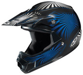 HJC CL-XY Youth Whirl Helmet Juniors - Sm Black/Blue HJC276-922
