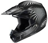 HJC CL-XY Youth Whirl Helmet Juniors - Sm Black/Silver HJC276-952