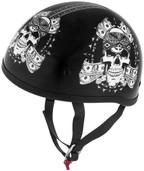 Skid Lid Original Thug Skull Helmet
