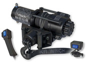 KFI Stealth 4500 lb Synthetic Rope Winch Kit w/ Remote