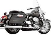Cobra True Dual Harley Davidson FL Head Pipes Chrome 6251