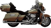 SuperTrapp Fatshots Chrome Slip-On Harley Davidson Exhaust 728-71576
