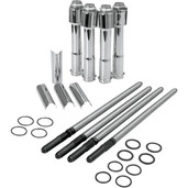 S&S Cycle Adjustable Pushrod Kit with Covers Standard 930-0024