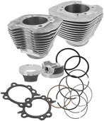 S&S Cycle Big Bore Kit 97in. Silver Powder-Coated 910-0201
