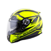 Scorpion EXO-1100 Jag Helmet Black/Neon Md 110-7534