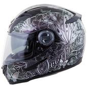 Scorpion EXO-500 Mariposa Helmet XS Silver 50-10042