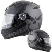 Scorpion EXO-500 Numbskull Helmet Lg Phantom 50-11425