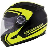 Scorpion EXO-500 West Graphic Helmet 2XL Neon 50-8507