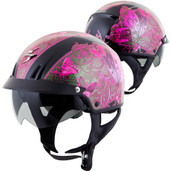Scorpion EXO-C110 Mariposa Half Helmet Sm Pink C11-2323