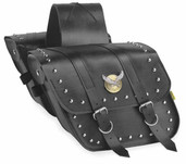 Willie Max Compact Studded Slant Saddlebag