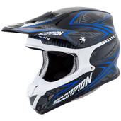Scorpion VX-R70 Blur Off Road Helmet 2XL Blue 70-5027
