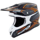 Scorpion VX-R70 Blur Off Road Helmet Md Orange 70-5084