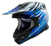 Scorpion VX-R70 Flux Helmet Lg Blue SCORPION70-2025
