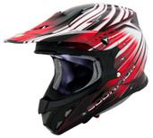 Scorpion VX-R70 Flux Helmet Lg Red SCORPION70-2015