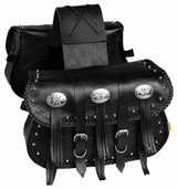 Willie Max Warrior Saddlebag