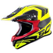 Scorpion VX-R70 Quartz Helmets Sm Neon Yellow 70-3503
