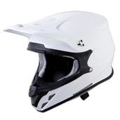 Scorpion VX-R70 Solid Helmet Md White 70-0054