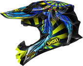 Shoei VFX-W Grant 2 Helmet LRG Yellow 0145-8803-06