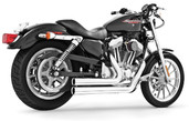 Freedom Performance Exhaust Independence Shorty Chrome