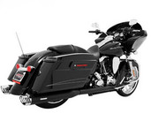 Freedom Performance Exhaust Racing Duals Blk/Chr Tip