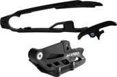 Acerbis Chain Guide/slider Kit Black Ktm