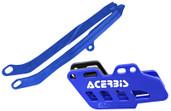Acerbis Chain Guide/slider Kit Blue Yamaha