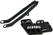Acerbis Chain Guide/slider Kit Black Kawasaki