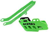 Acerbis Chain Guide/slider Kit Green Kawasaki