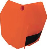 Acerbis Front   Plate Orange Ktm