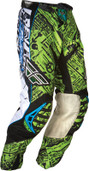 Fly Evolution Race Pant Green/Black Sz 30 365-13530