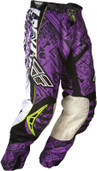 Fly Evolution Race Pant Purple/Black Sz 28s 365-13828S