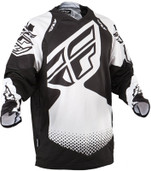 Fly Evolution Rev Jersey Black/white Large 366-120L