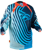 Fly Evolution Sonar Jersey Blue/lite Blue Small 366-121S
