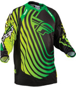 Fly Evolution Sonar Jersey Green/black 2XL 366-1252X