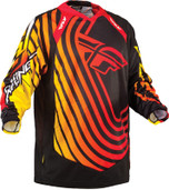 Fly Evolution Sonar Jersey Red/black/yellow Small 366-128S