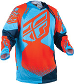 Fly Evolution Rev Jersey Neon Orange/blue Large 366-129L