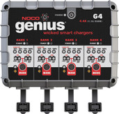 Noco Genius Battery Charger G4 4-bank Charger / 4.4 Amp G4