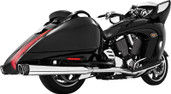Freedom Duals W/4  Muffler Black/Chrome Vision MV00015