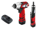 "AcDelco ARI1268-3EU Li-ion 10.8V 3/8"" Impact Wrench Kit and ARG1213H 10.8V Straight die grinder TOOL ONLY"
