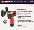 Acdelco ARS1212 Mini Polisher