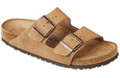 birkenstock arizona jasper suede soft footbed