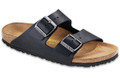 birkenstock arizona black oiled leather