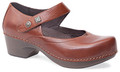 Dansko Tandy Cognac Burnished Full Grain