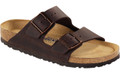 birkenstock arizona habana oiled leather soft footbed