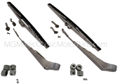 Windshield Wiper, Arm & Blade (Complete Set of Two)