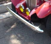 """Bumper, Front, MG Replica (Chrome) 55"""""""