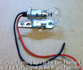 Parking / Turn Signal, Socket and Bulb, Lucas Style, Replacement (Each)