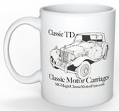 "Classic Motor Carriages Coffee Mug ""Classic TD and Gazelle"""