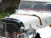 Classic Motor Carriages Gazelle Hood Fiberglass by MG Magic